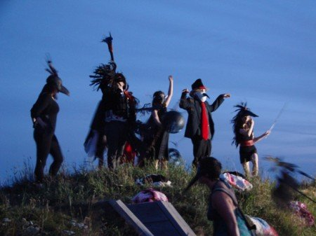 Crow Parade in Charlottetown 2