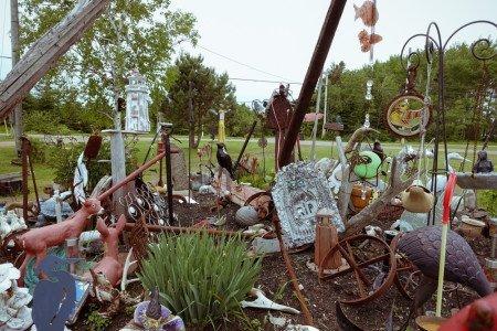 Island art environments - Alberton, PEI garden 5