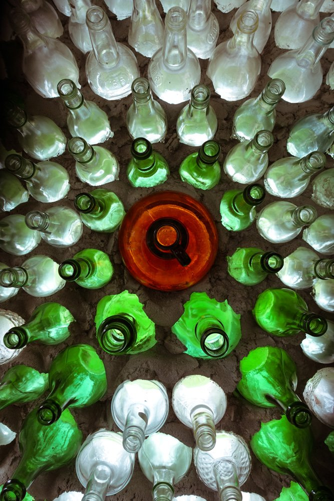 Island art environments - PEI Bottle Houses 2