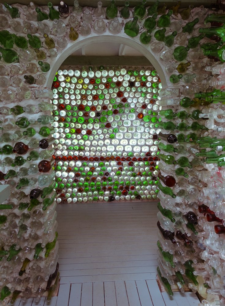 Island art environments - PEI Bottle Houses 4