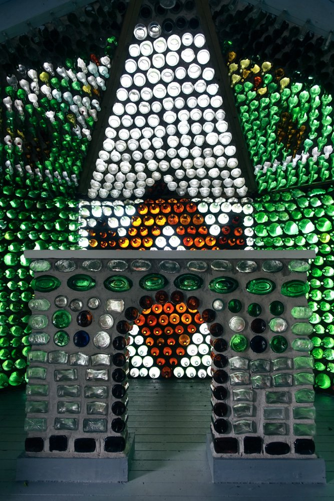 Island art environments - PEI Bottle Houses 5